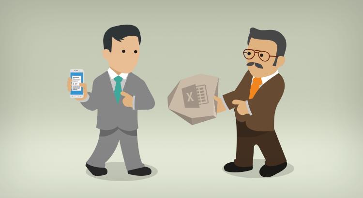 Sigues utilizando Excel para gestionar tu negocio, ¡digitalizate!